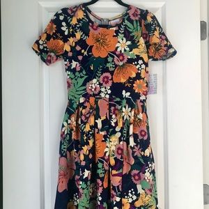 Floral Spring LulaRoe Amelia Dress